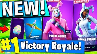 BRAND *NEW* EASTER SKINS In Fortnite Battle Royale!!