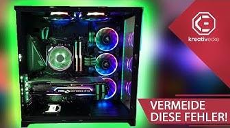 DIESE 5 FEHLER solltet IHR beim GAMING PC BAU und KAUF 2020 VERMEIDEN!