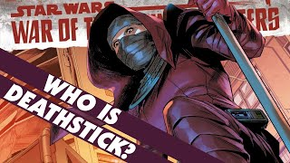 Deathstick Returns! But Who Is She? - War of the Bounty Hunters Update