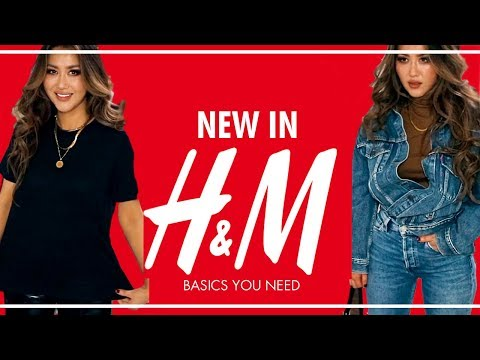HUGE H&M Haul & Try-On 💕 Basics you NEED this Fall /AUTUMN 2019