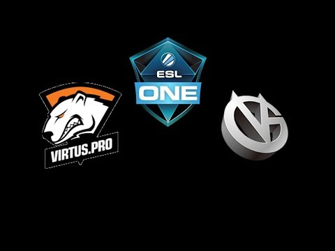 VP vs VG  ESL One Katowice 2018 powered by Intel Highlights Dota 2