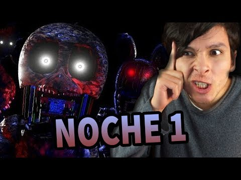 ¿PASARÉ LA PRIMERA NOCHE? | Five Nights at Freddy's (The Joy of Creation: Story mode)