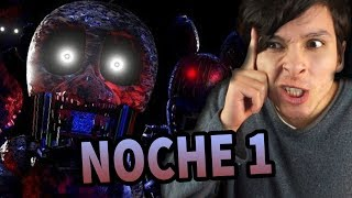 ¿PASARÉ LA PRIMERA NOCHE? | Five Nights at Freddy's (The Joy of Creation: Story mode)