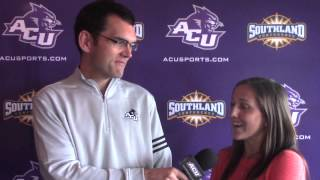 ACU Soccer Interviews: Casey Wilson and Andrea Carpenter