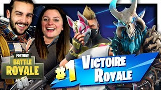 NEW TOP 1, NEW MAP AND NEW SKINS! FORTNITE SAISON 5 DUO EN