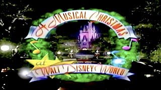 A Musical Christmas at Walt Disney World (1993) - DisneyAvenue.com