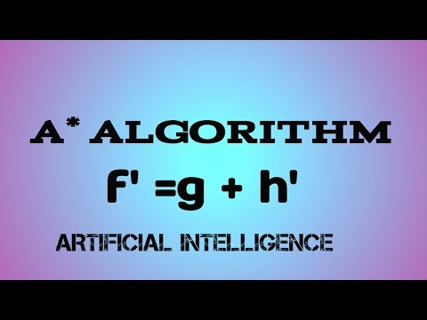 06 A* Algorithm in an easiest way | Artificial intelligence