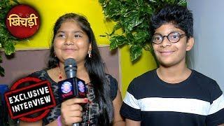New Jacky And Chakki In Khichdi - Exclusive Interview