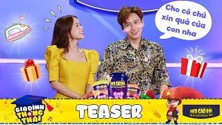 """Gia đình thông thái   Teaser 1: Huy Sam - cặp đôi vàng trong làng """"xin xỏ"""""""