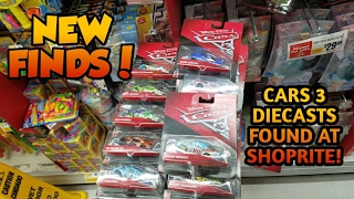 Disney Pixar Cars 3 Diecasts at ShopRite! (Video is not edited) But Many New Cars