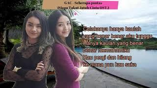 Download Mp3 Seberapa Pantas - Gamaliel Audrey Cantika  Gac  Lyrics  Ost. Siapa Takut Jatuh C