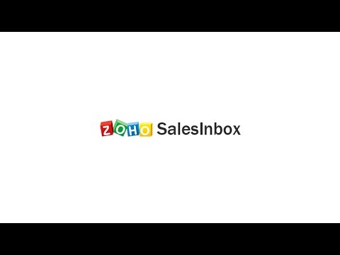 Zoho SalesInbox - Your Pipeline. Your Inbox.