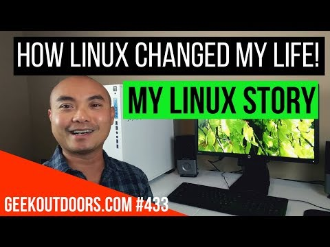 LIVE: How Linux Changed My LIFE!!! #Geekoutdoors.com EP433