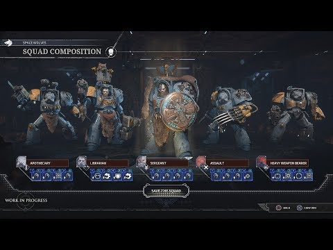 Space Hulk: Tactics First look