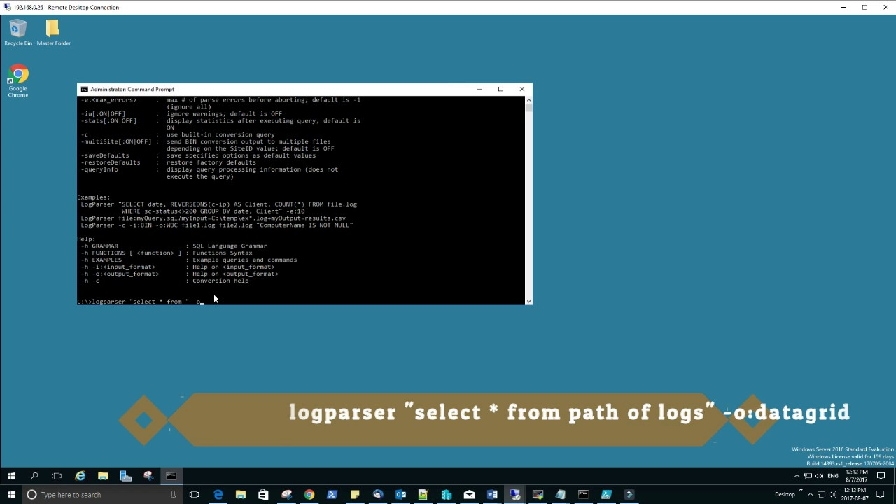 How to analyze IIS logs using Log Parser | Log Parser | How to find IIS  logs | LEARN FROM EXPERT