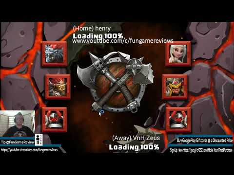 Clash of Lords 2 - COLISEUM PVP PUSH TO 2500 FAME!!!  FREE MASSIVE COINS FOR EVERYONE!!!
