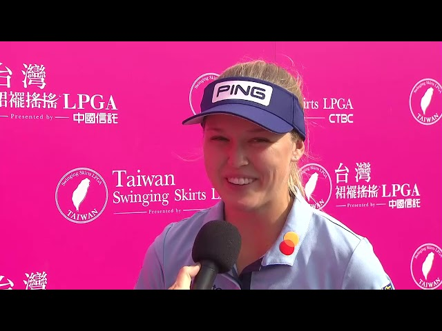 Brooke Henderson Second Round Highlights in the 2019 Taiwan Swinging Skirts LPGA