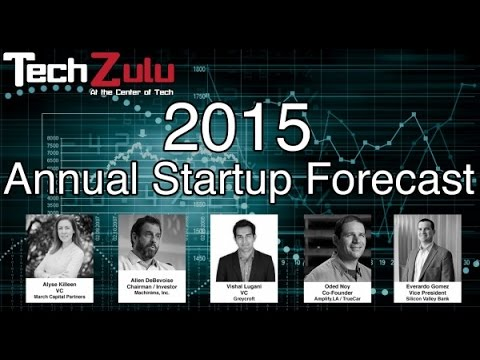LA Startup Forecast 2015 | Greycroft, March Capital, Amplify, SVB, Machinima