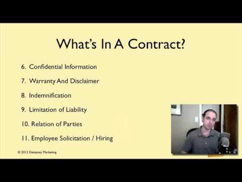 Why You Must Always Use A Contract And How To Write One