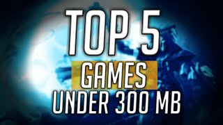 5 awesome pc games under 300mb with working download links(highly compressed)
