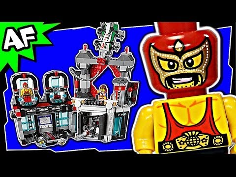 Lego Movie LORD BUSINESS' EVIL LAIR 70809 Animated Building Review