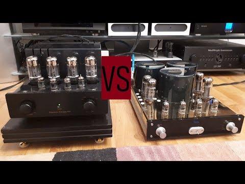 Amazing PrimaLuna Prologue tube integrated amp vs Yaqin MC10L