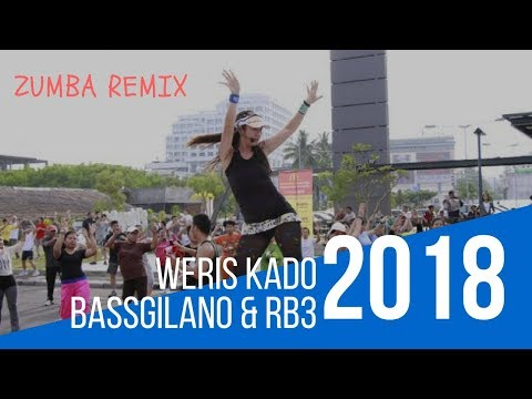 BASSGILANO & RB3  WERIS KADO VIDEO CLIP ZUMBA 2018 REMIX