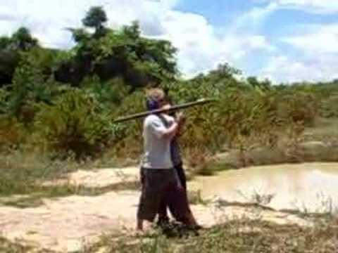 cambodian rocket launcher - YouTube