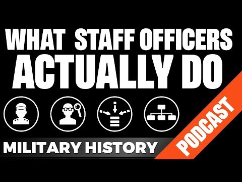 What contemporary Staff Officers actually do? - Interview with an Australian Officer
