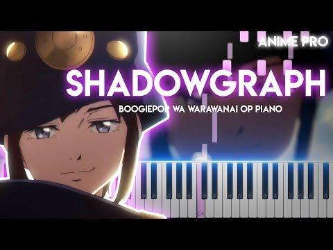 Shadowgraph - Boogiepop wa warawanai OP (synthesia piano tutorial)
