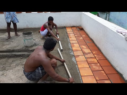 Amazing roof cool technology-How to install cool roof tile-do creative new method and esay way