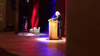 Bernie Sanders speaks live from George Washington University