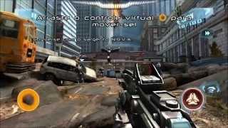 Gameplay N.O.V.A. 3 Near Orbit Vanguard Alliance LG Optimus F5