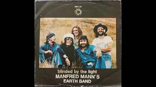 Manfred Mann's Earth Band - Blinded By The Light (single 45 mix) (1976)