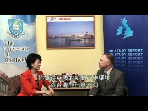 民視主播陳淑貞談論她在英國留學的日子