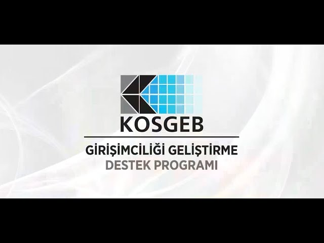 Kosgeb girişimci destek programı