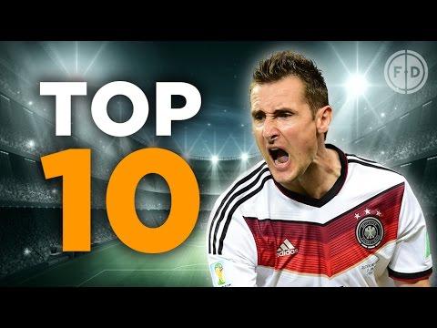 Top 10 Germany Goalscorers