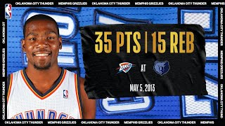 KD Calls Game In CLUTCH Playoff Performance | #NBATogetherLive Classic Game