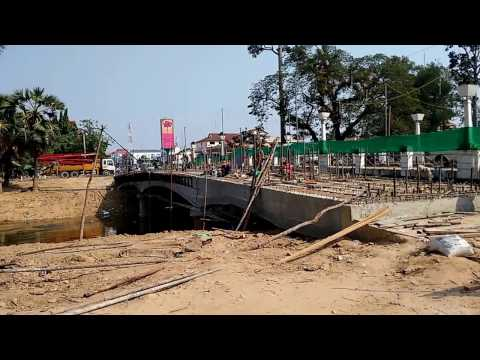 LIVING IN CAMBODIA, women in construction, health and safety, bridge building, civil engineering
