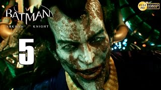 Batman Arkham Knight PS4 Parte 5 Gameplay Español | El Joker Inmortal 1080p
