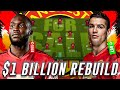 $1 BILLION DOLLAR MAN UNITED SELL WHOLE TEAM REBUILD - FIFA 19 CAREER MODE
