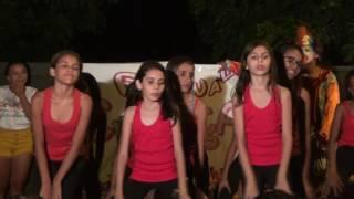 Grupo de Dança do Luis Alves no 9º Festival das Crianças do bairro