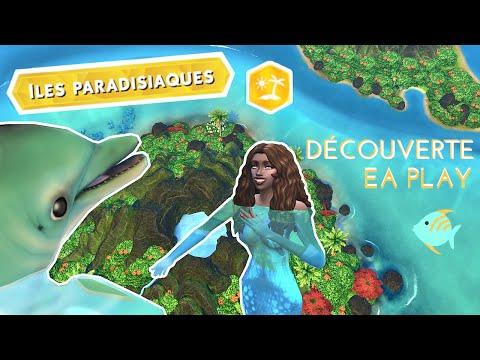 Volcan, dauphin et bronzage ! - SIMS 4 ILES PARADISIAQUES