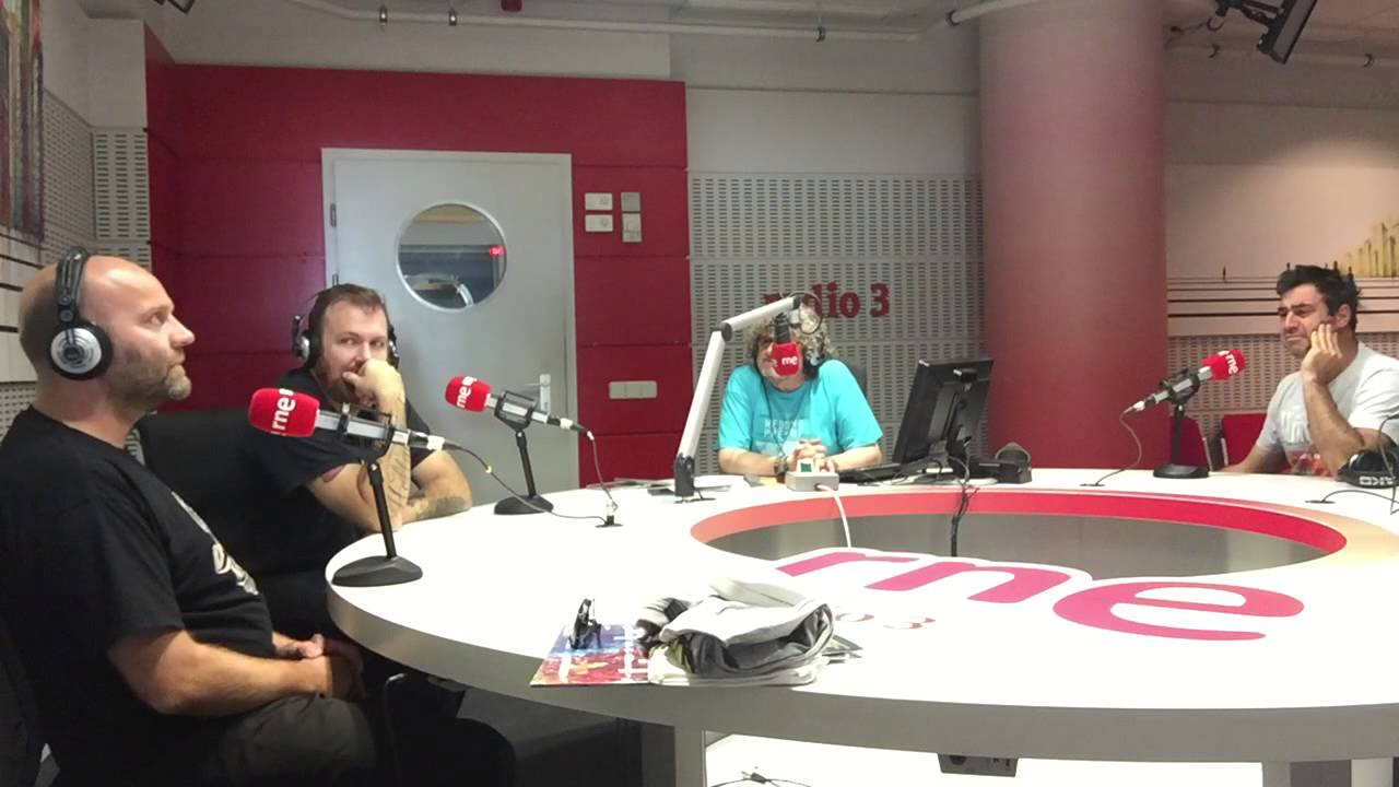 David Myhr and Linus of Hollywood (Melody and Madness tour) interview in  Spanish National Radio 3