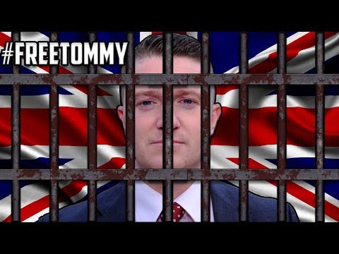 Tommy Robinson Sentenced To 13 Months In Jail