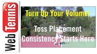 Tennis Serve Technique - Controlling Your Toss