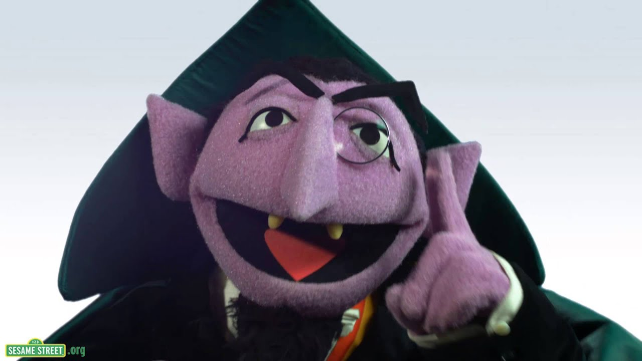 Image result for sesame street the count