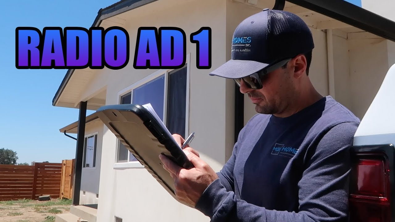 How to Sell My House Fast in Northern California Fast Radio Ad