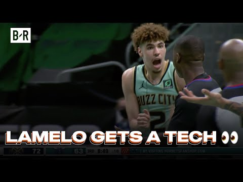 LaMelo Ball Really Got A Tech For This Play vs. Nuggets