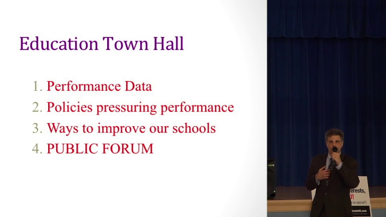 Ed Amatetti - (Part I) Maryland Public Schools Performance - Education  Forum Germantown-Clarksburg